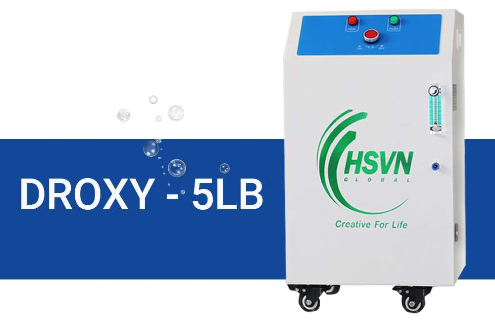 máy tạo oxy công nghiệp droxy 5LB