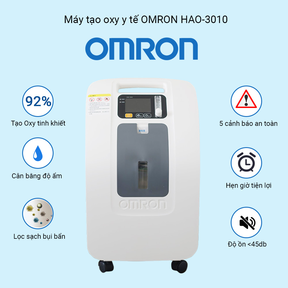 máy tạo oxy y tế omron hao-3010