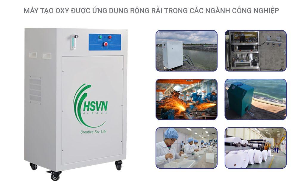 ứng dụng của máy tạo oxy công nghiệp 10LB