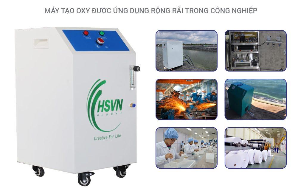 ứng dụng của máy tạo oxy 5LB