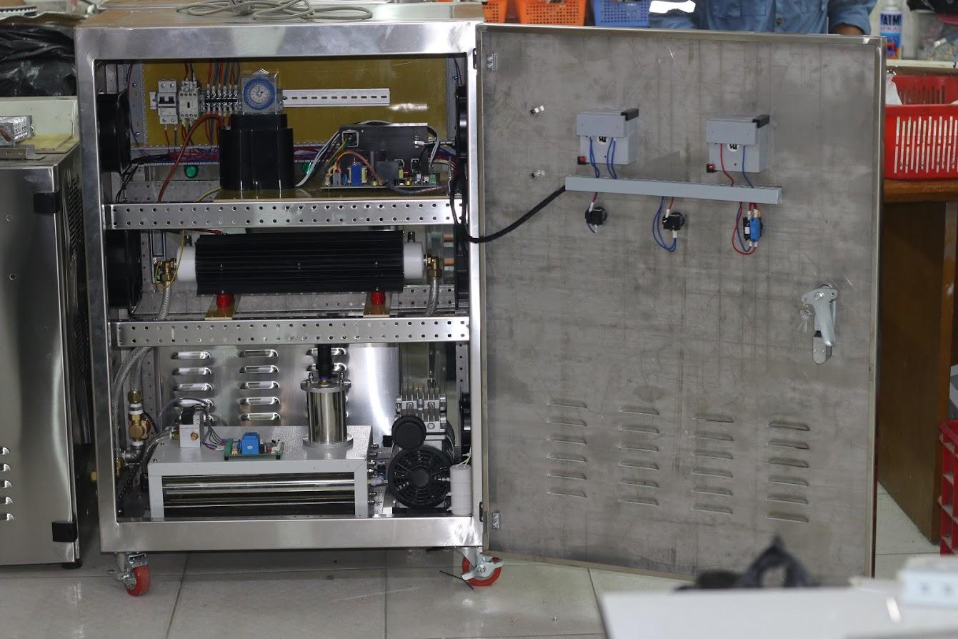 Ứng dụng máy Oxy trong sản xuất máy Ozone